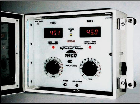 IMCO Tonnage Load Monitor Digital Two channel System 618-2
