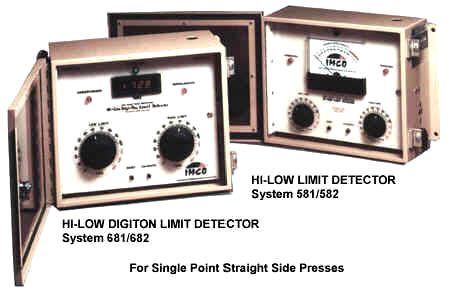 IMCO One Channel Digital Hi Low Tonnage Load Monitor