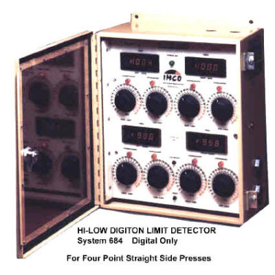 IMCO Tonnage Load Monitor Digital Four channel System
